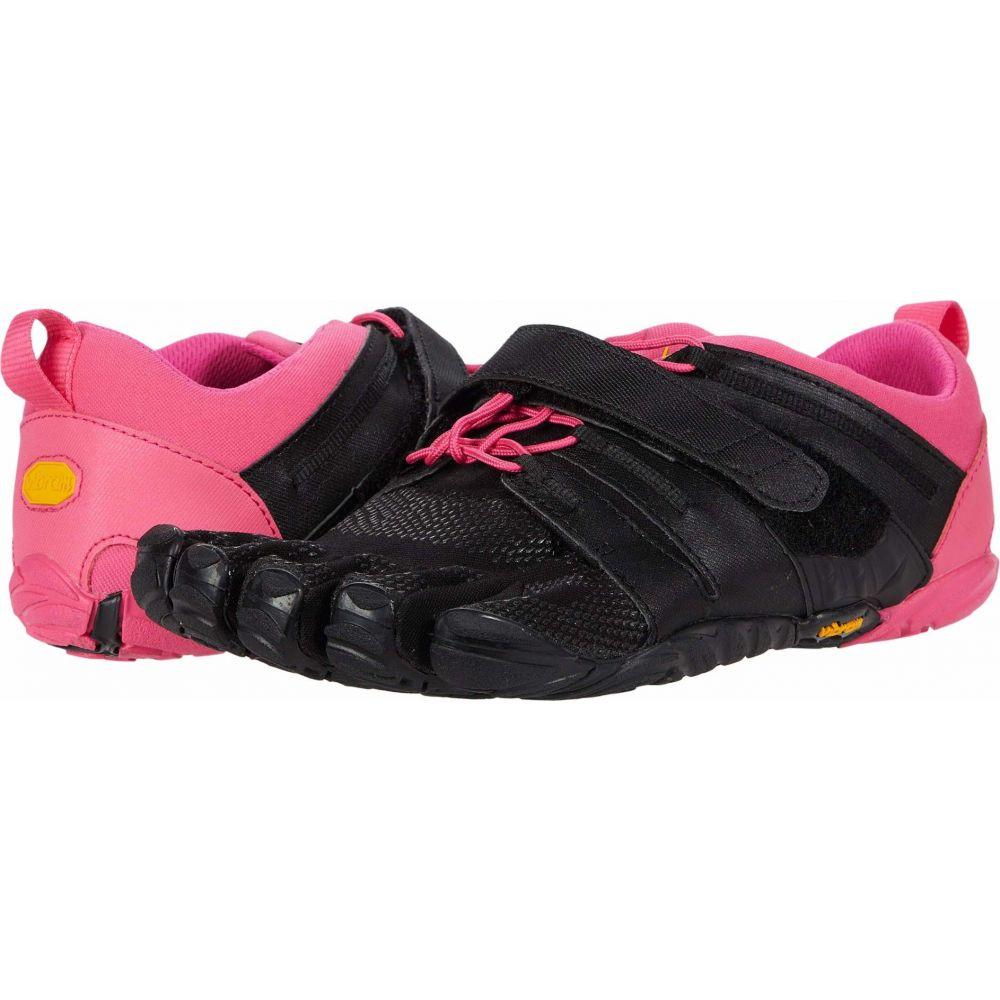 ビブラムファイブフィンガーズ Vibram FiveFingers レディース ランニング・ウォーキング シューズ・靴【V-Train 2.0】Black/Pink