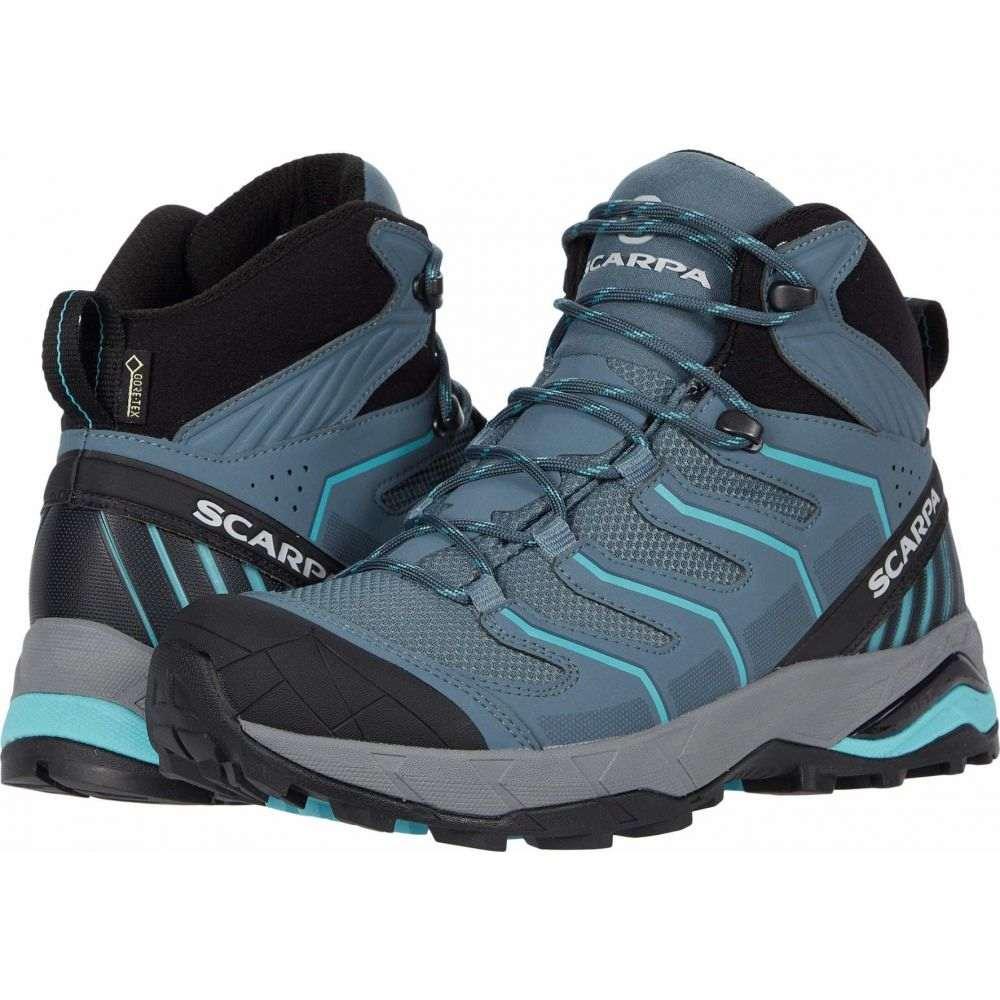 スカルパ Scarpa レディース ハイキング・登山 シューズ・靴【Maverick Mid GTX】Storm Grey/Aqua