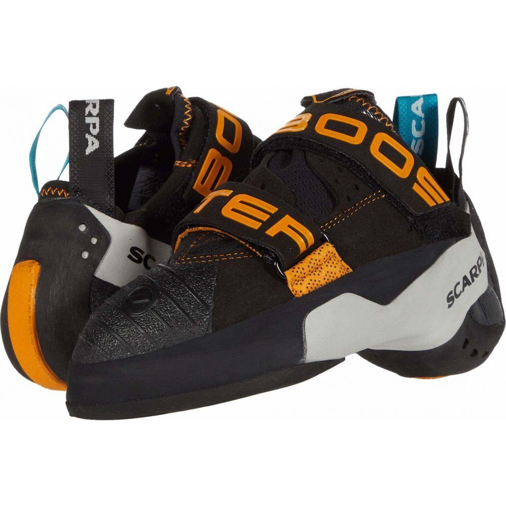 スカルパ レディース ハイキング 登山 シューズ [宅送] 靴 Black Orange Scarpa 着後レビューで 送料無料 Booster サイズ交換無料