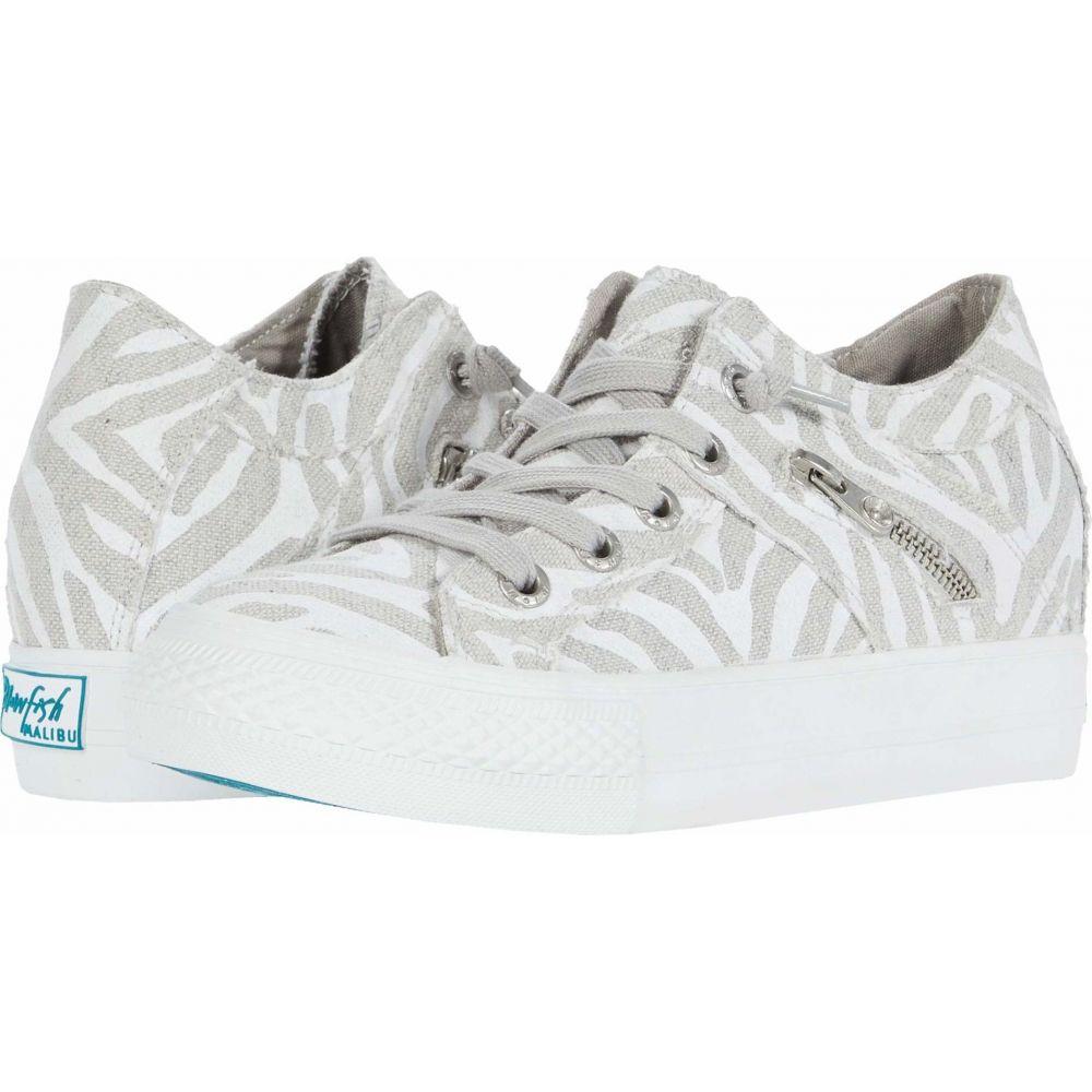 ブローフィッシュ Blowfish レディース スニーカー シューズ・靴【Melondrop】Off-White Zebra Print Linen
