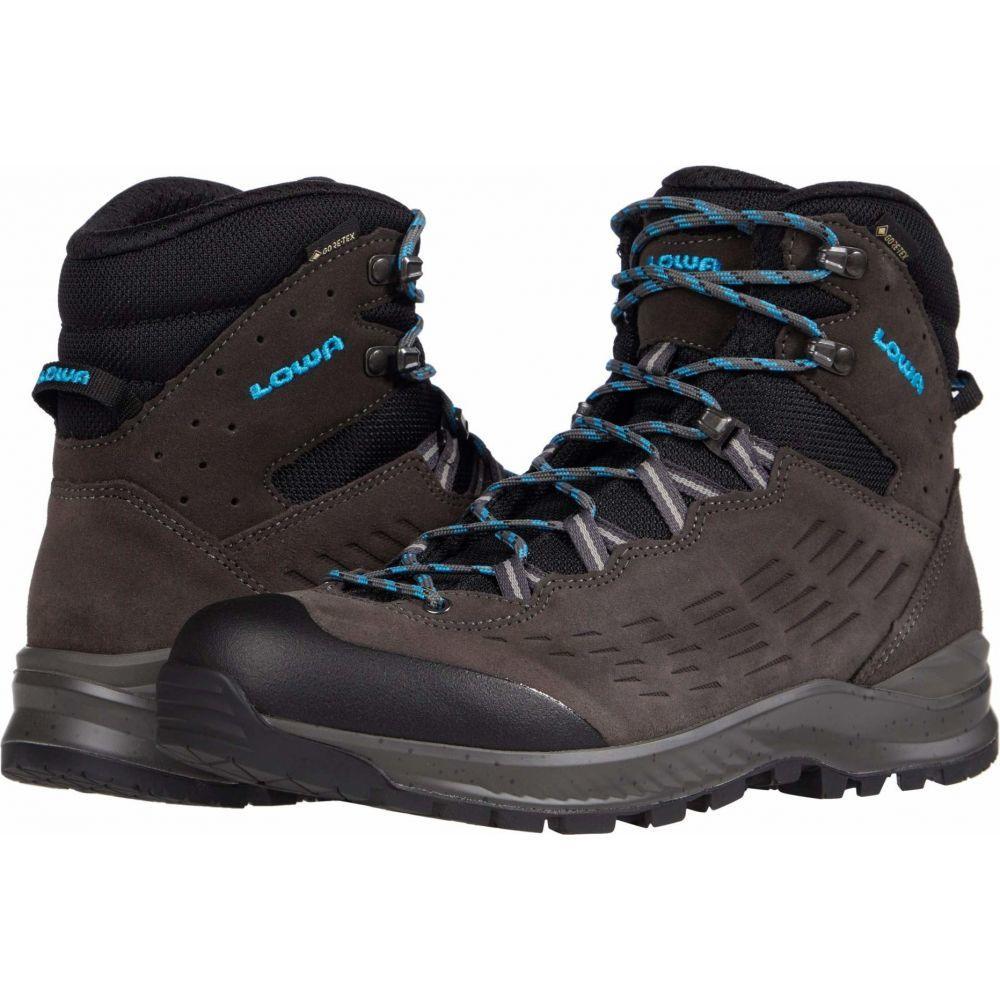 ロワ レディース ハイキング 登山 シューズ 靴 Anthracite 日本限定 激安挑戦中 サイズ交換無料 GTX Mid Lowa Explorer Turquoise