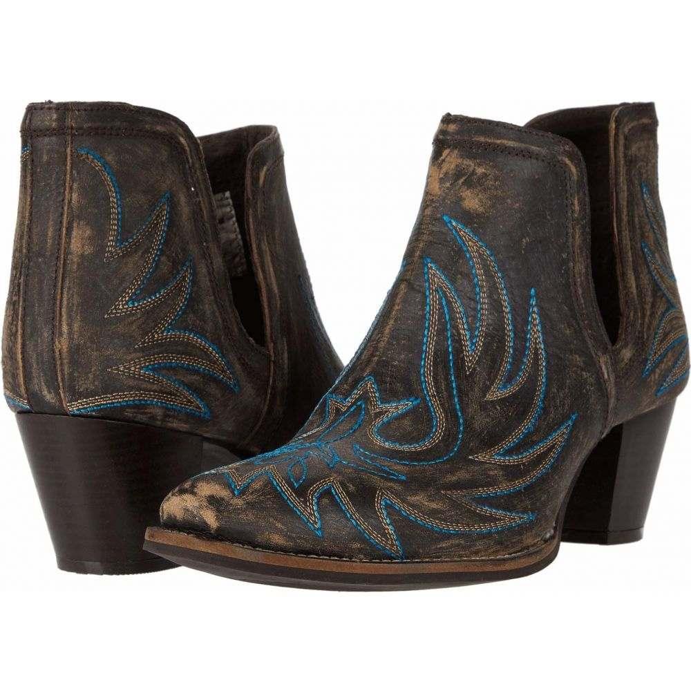 ローパー Roper レディース ブーツ シューズ・靴【Rowdy】Brown Leather