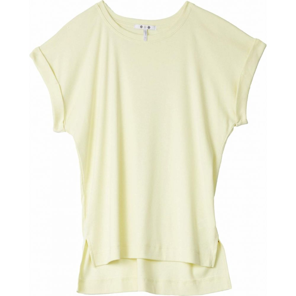 スリードッツ Three Dots レディース トップス 【Cotton Modal Short Sleeve Top】Limonata
