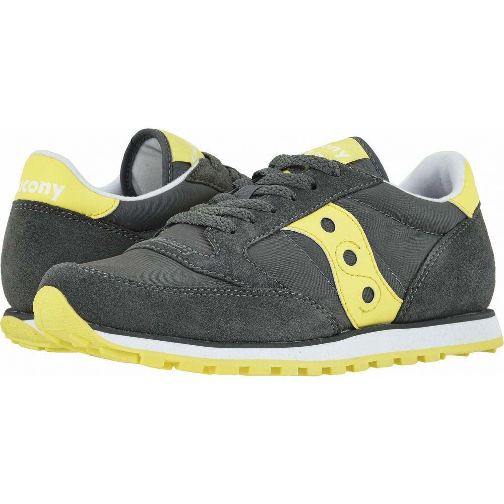 サッカニー Saucony Originals レディース スニーカー シューズ・靴【Jazz Low Pro】Grey/Yellow
