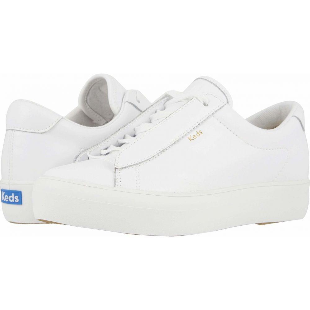 ケッズ Keds レディース スニーカー シューズ・靴【Rise Metro Leather】White Leather