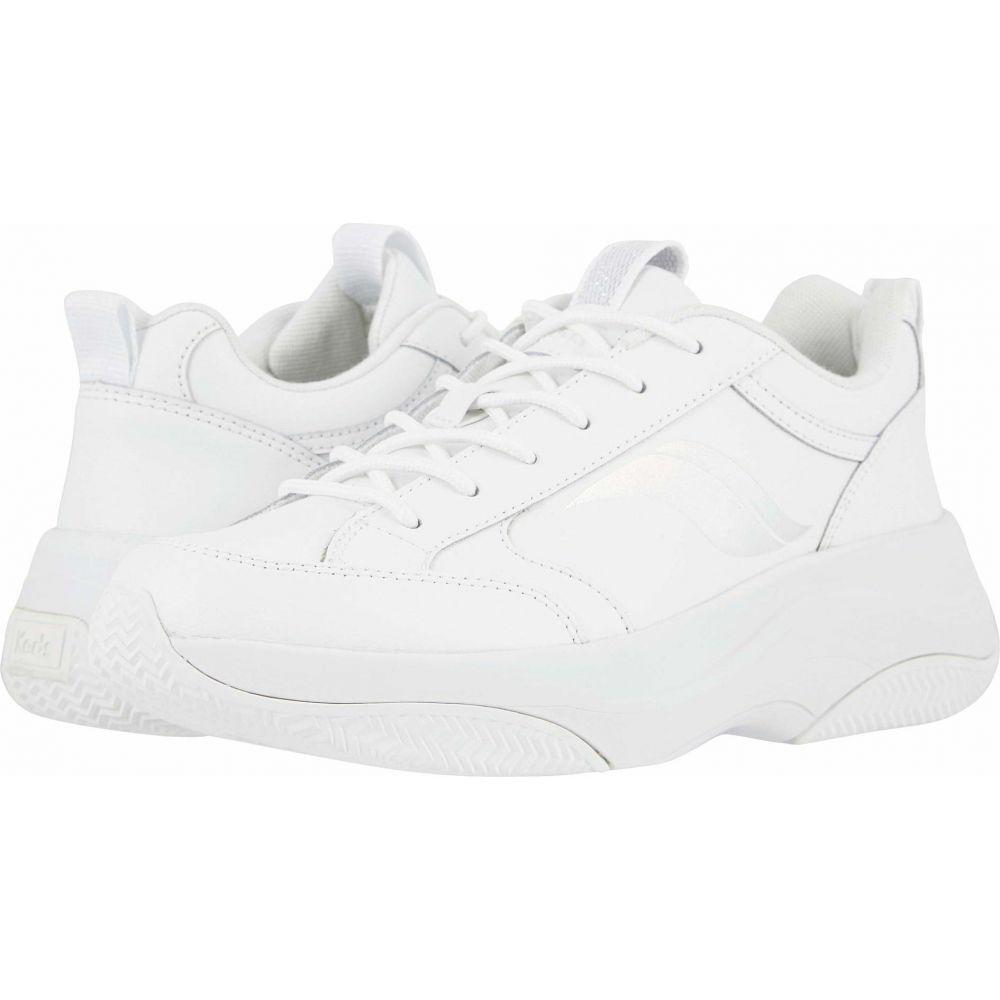 ケッズ Keds レディース スニーカー シューズ・靴【K-89 Leather】White