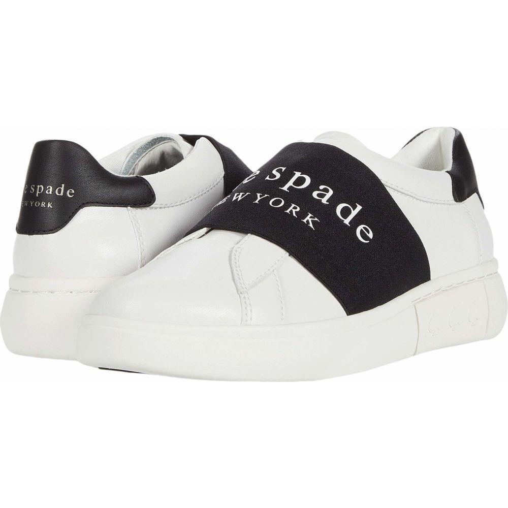 ケイト スペード Kate Spade New York レディース スニーカー シューズ・靴【Lift Logo】Optic White/Black