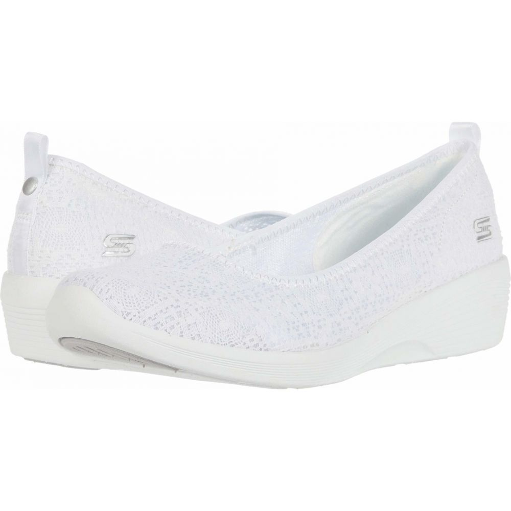 スケッチャーズ SKECHERS レディース スニーカー シューズ・靴【Arya - Airy Days】White
