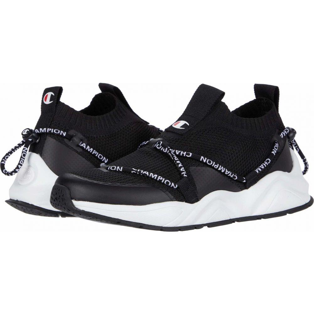 チャンピオン Champion レディース スニーカー シューズ・靴【Rally Flux Lo】Black/White