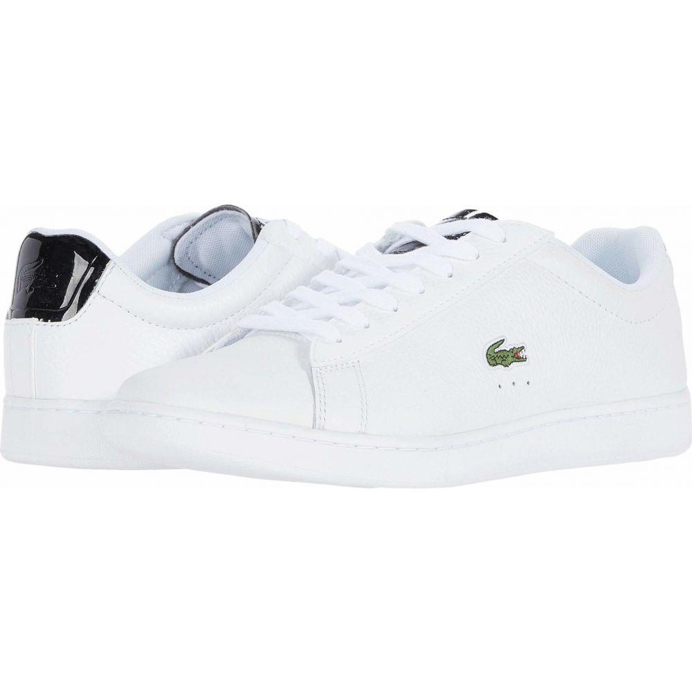 ラコステ Lacoste レディース スニーカー シューズ・靴【Carnaby Evo 220 1】White/Black