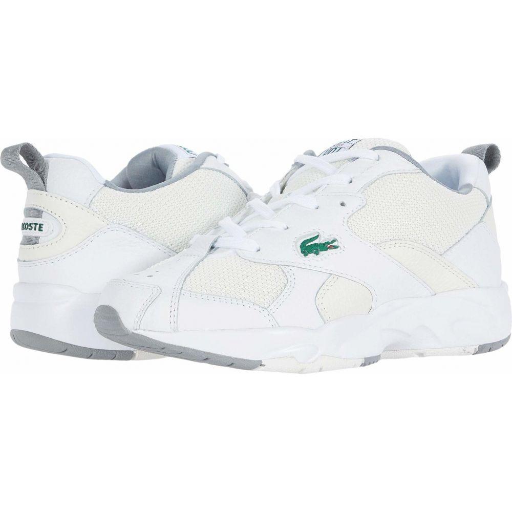 ラコステ Lacoste レディース スニーカー シューズ・靴【Storm 96 120 2】White/Off-White