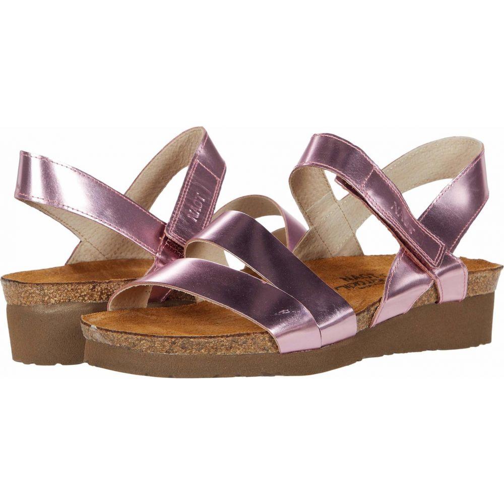 ナオト Naot レディース サンダル・ミュール シューズ・靴【Kayla】Pink Mirror Leather