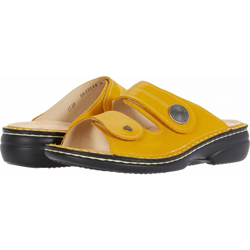 フィンコンフォート Finn Comfort レディース サンダル・ミュール シューズ・靴【Sansibar - 82550】Yellow