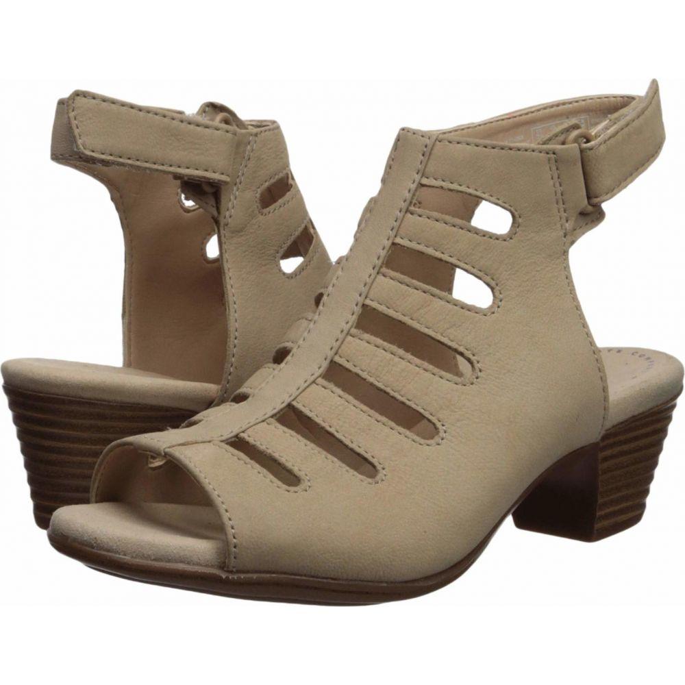 クラークス Clarks レディース サンダル・ミュール シューズ・靴【Valarie Shelly】Sand Nubuck