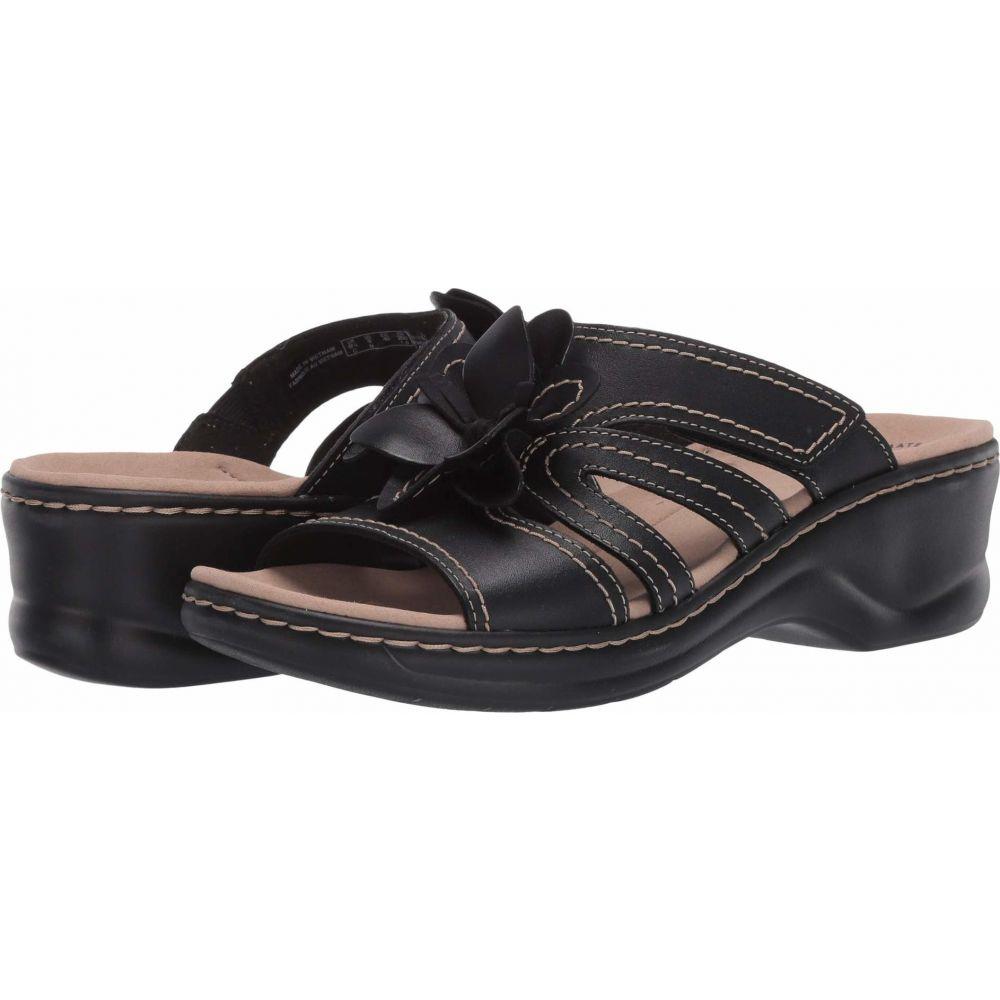 クラークス Clarks レディース サンダル・ミュール シューズ・靴【Lexi Opal】Black Leather