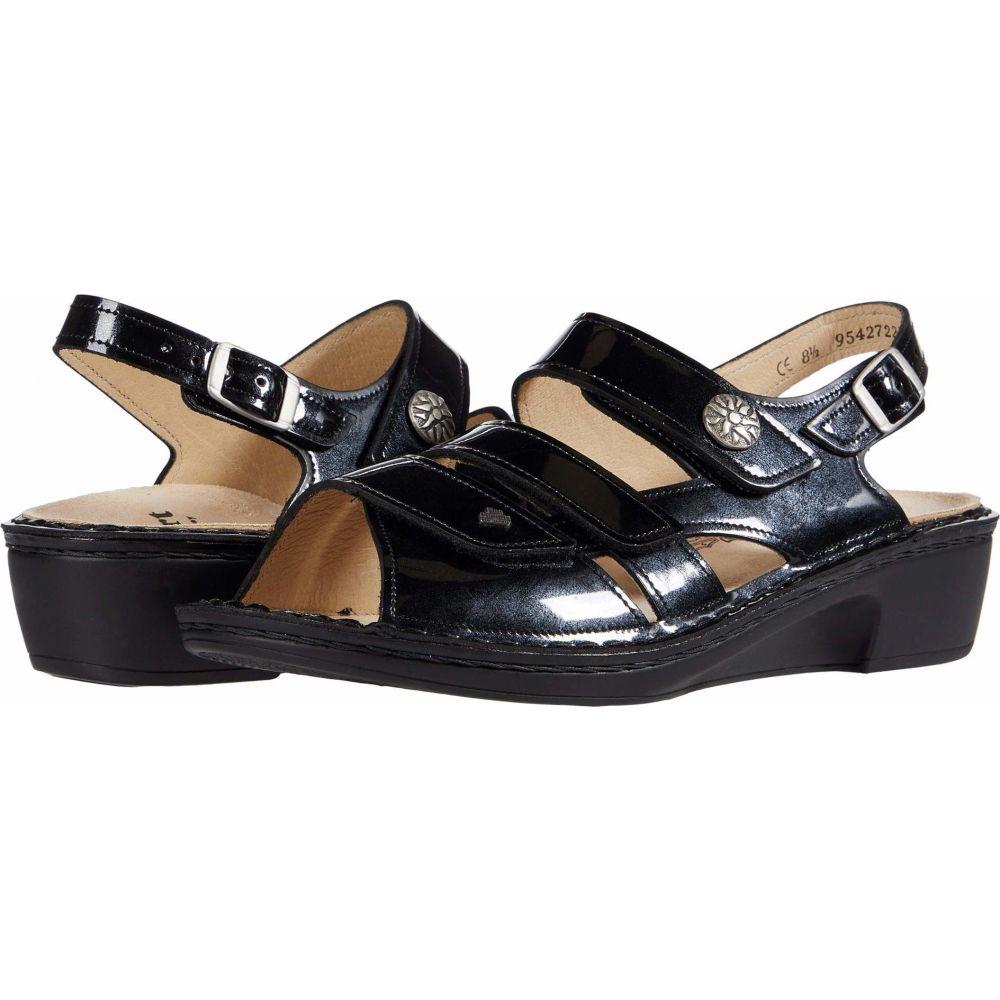 フィンコンフォート Finn Comfort レディース サンダル・ミュール シューズ・靴【Aversa】Navy/Patent