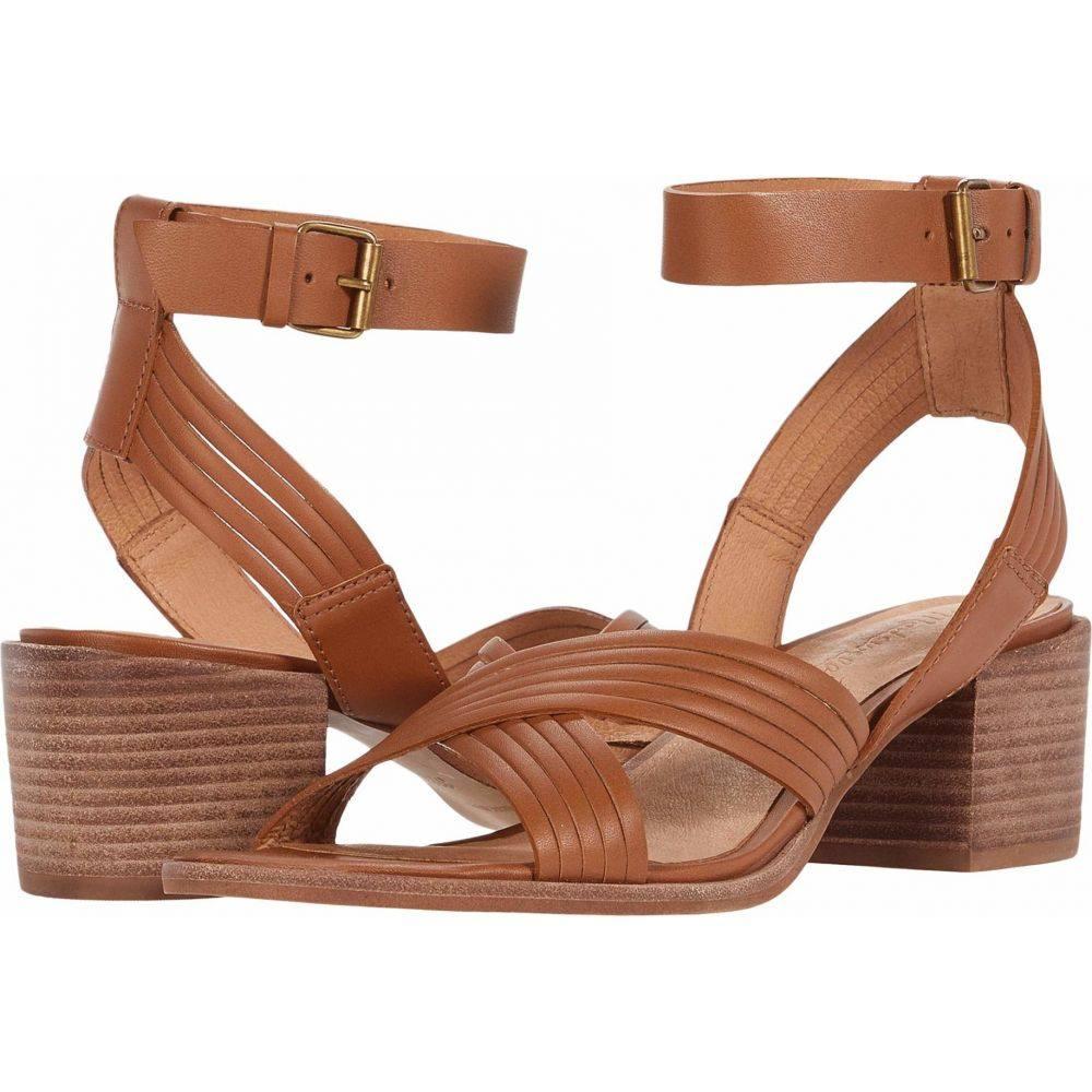 メイドウェル Madewell レディース サンダル・ミュール アンクルストラップ シューズ・靴【Olson Multi Strap Heeled Ankle Strap Sandal】English Saddle