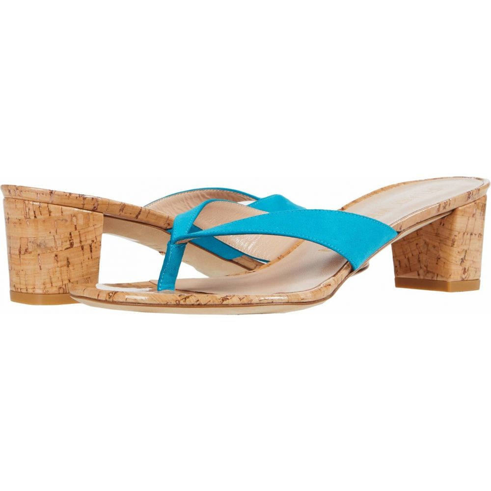 スチュアート ワイツマン Stuart Weitzman レディース サンダル・ミュール シューズ・靴【Brigida 50】Caribe Suede/Cork
