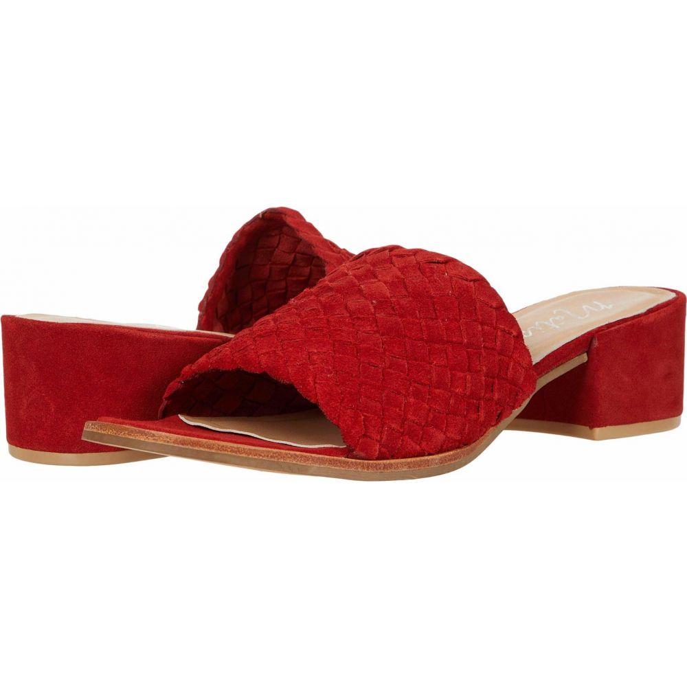 マチス Matisse レディース サンダル・ミュール シューズ・靴【Andi】Red Leather