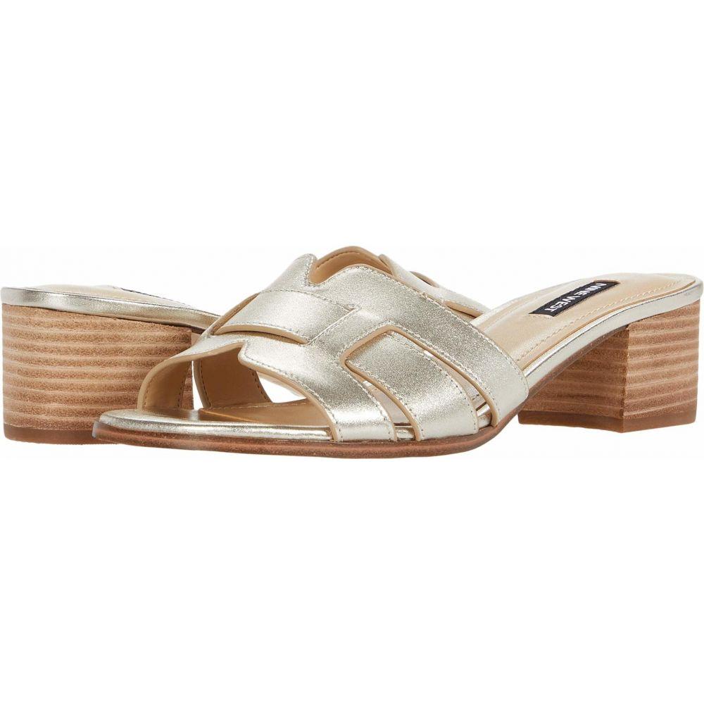 ナインウエスト Nine West レディース サンダル・ミュール シューズ・靴【Gizella】New Platinum