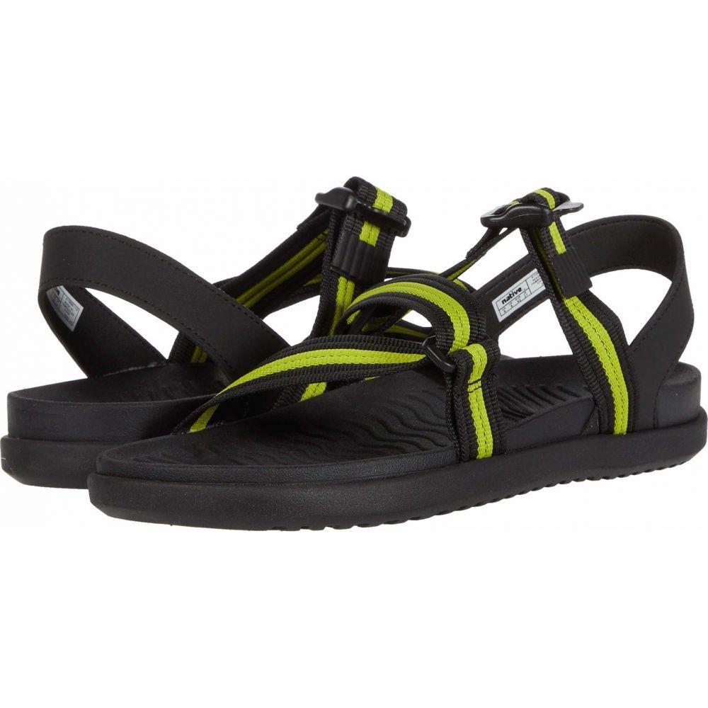 ネイティブ シューズ Native Shoes レディース サンダル・ミュール シューズ・靴【Zurich】Jiffy Black/Chartreuse Green/Jiffy Black