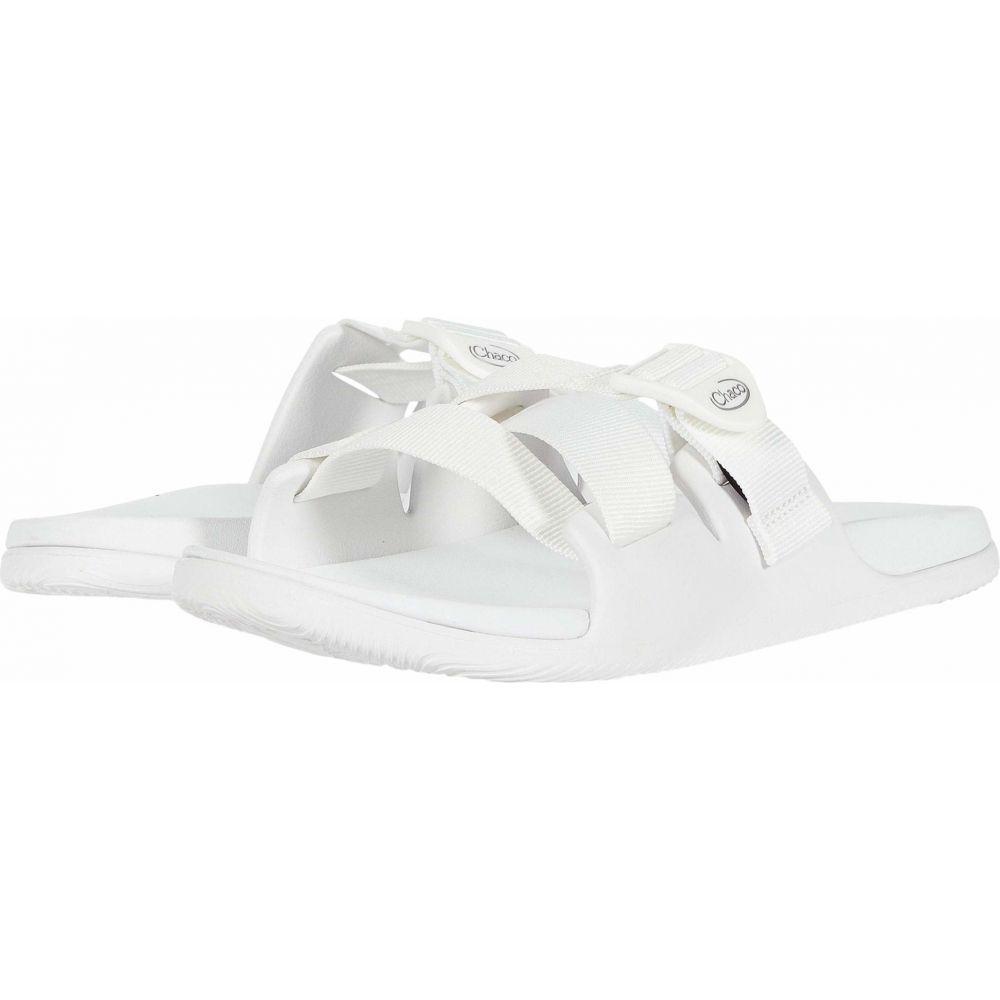 チャコ Chaco レディース サンダル・ミュール シューズ・靴【Chillos Slide】White