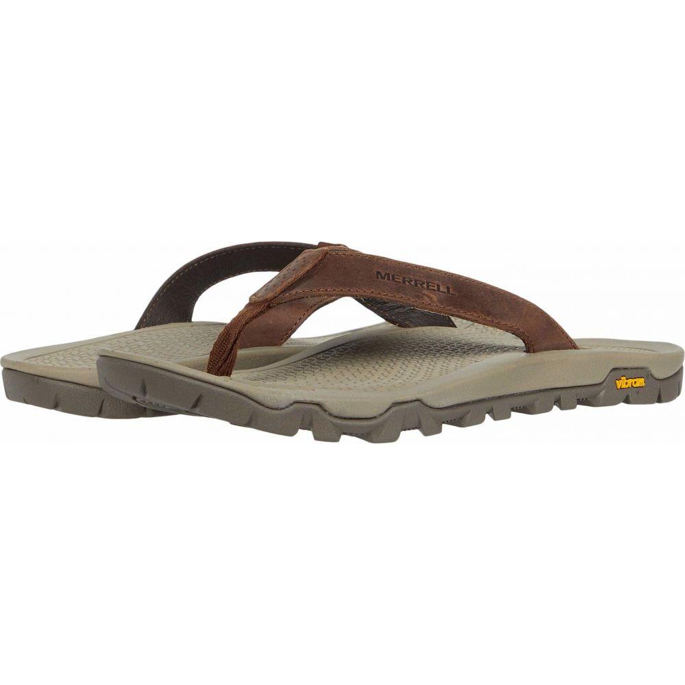 メレル Merrell レディース ビーチサンダル シューズ・靴【Breakwater LTR Flip】Brown