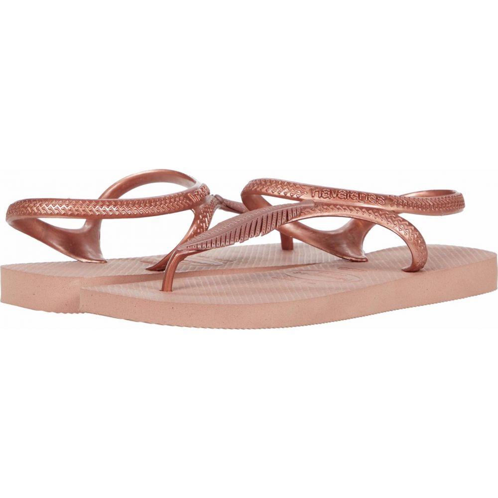 ハワイアナス Havaianas レディース ビーチサンダル シューズ・靴【Flash Urban Plus Sandal】Crocus Rose