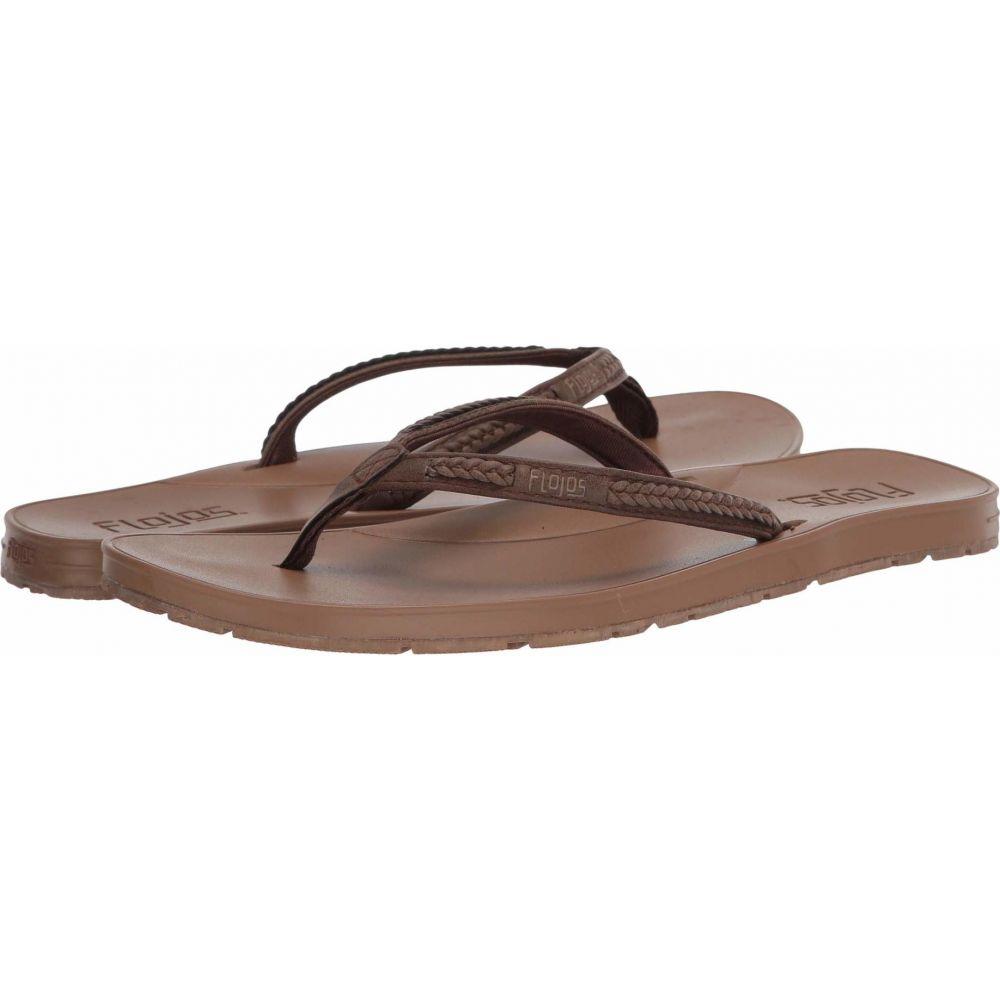 フロジョス Flojos レディース ビーチサンダル シューズ・靴【Adina】Brown/Tan