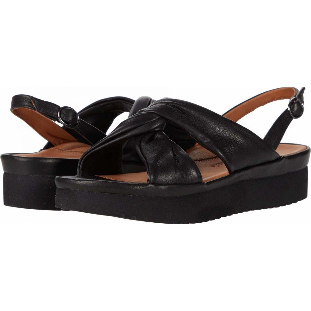 ラモールドピード L'Amour Des Pieds レディース サンダル・ミュール シューズ・靴【Amiens】Black Lamba