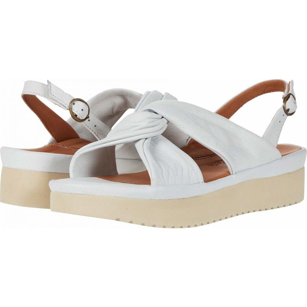 ラモールドピード L'Amour Des Pieds レディース サンダル・ミュール シューズ・靴【Amiens】White Lamba