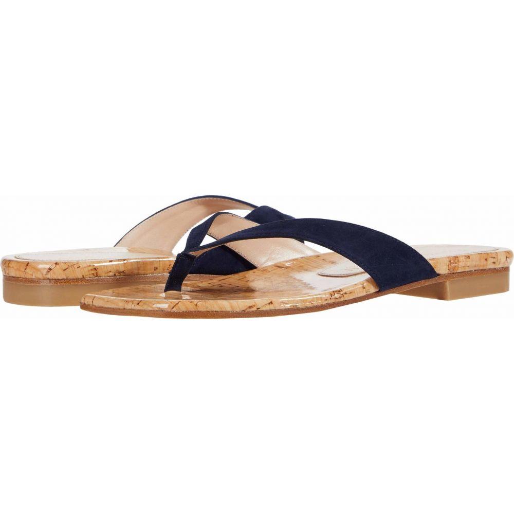 スチュアート ワイツマン Stuart Weitzman レディース ビーチサンダル シューズ・靴【Aldona】Nice Blue Suede/Cork