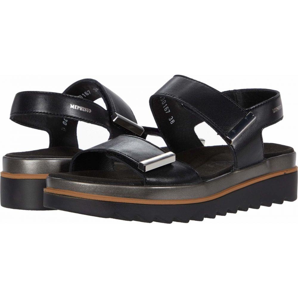 メフィスト Mephisto レディース サンダル・ミュール シューズ・靴【Dominica】Black Softy
