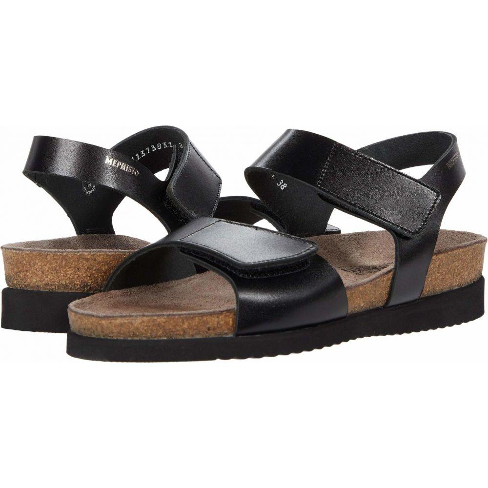 メフィスト Mephisto レディース サンダル・ミュール シューズ・靴【Heliane】Black Sandanyl