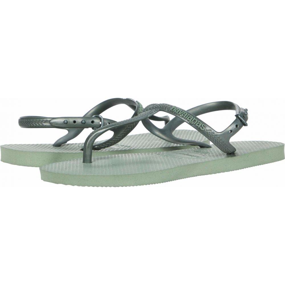 ハワイアナス Havaianas レディース サンダル・ミュール シューズ・靴【Twist Sandal】Mineral Green