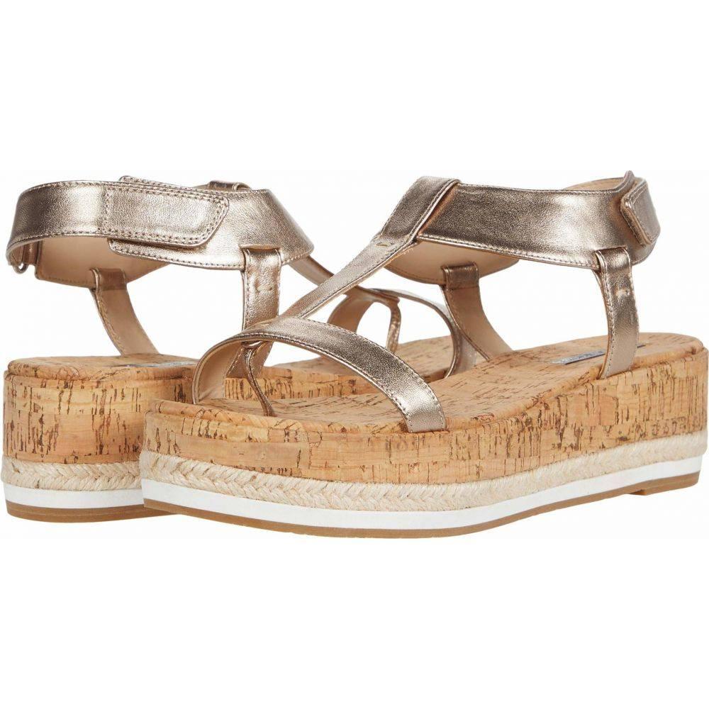 ペレ モーダ Pelle Moda レディース サンダル・ミュール シューズ・靴【Pilar】Platinum Metallic Leather