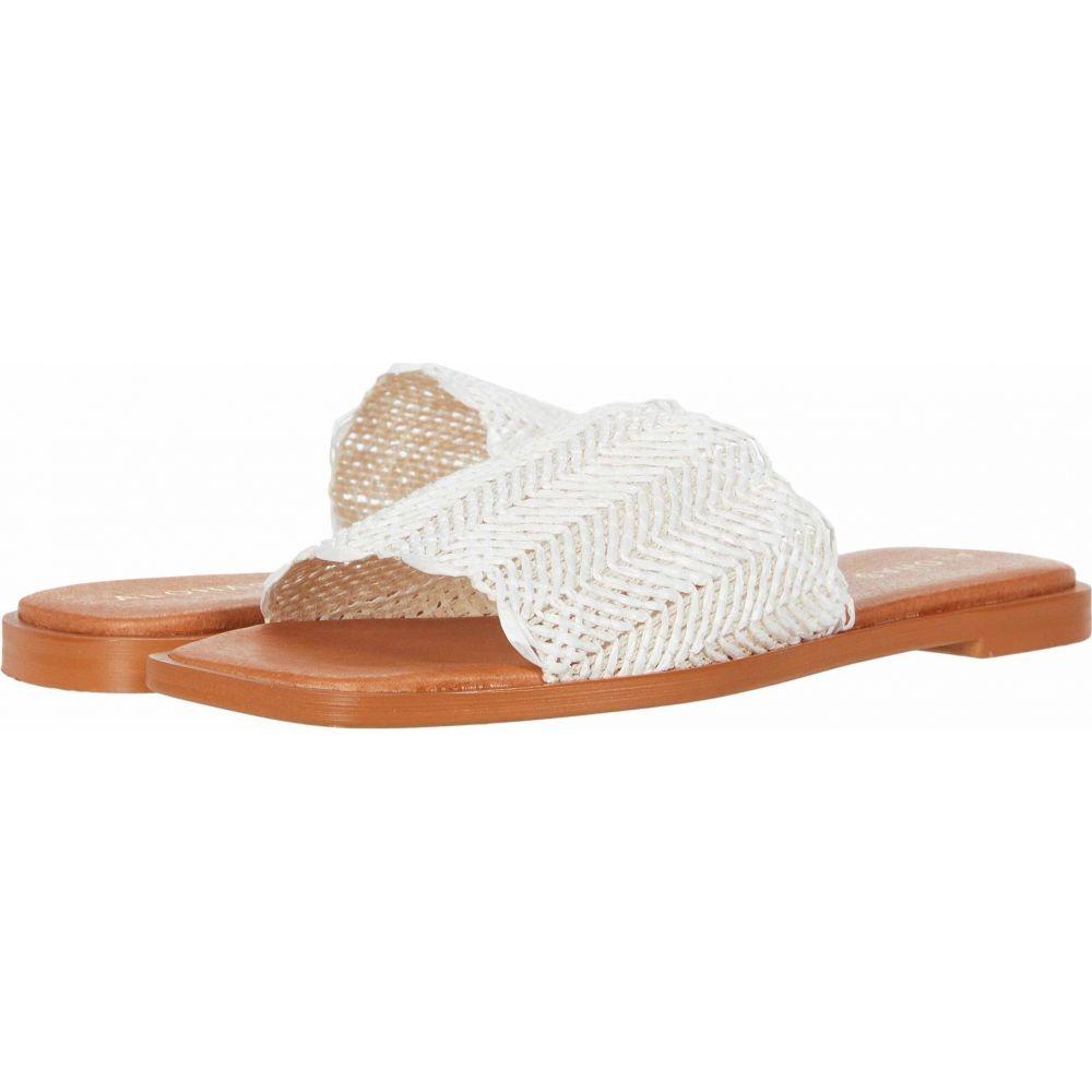 アロハス ALOHAS レディース サンダル・ミュール フラット シューズ・靴【Relaxa Flat Sandals】White