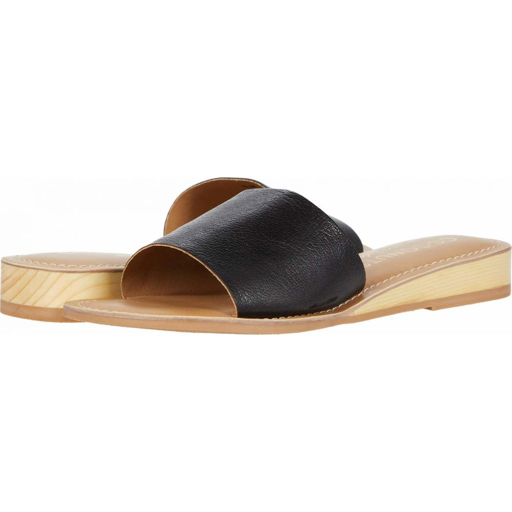 マチス Matisse レディース サンダル・ミュール シューズ・靴【Tiki】Black Leather