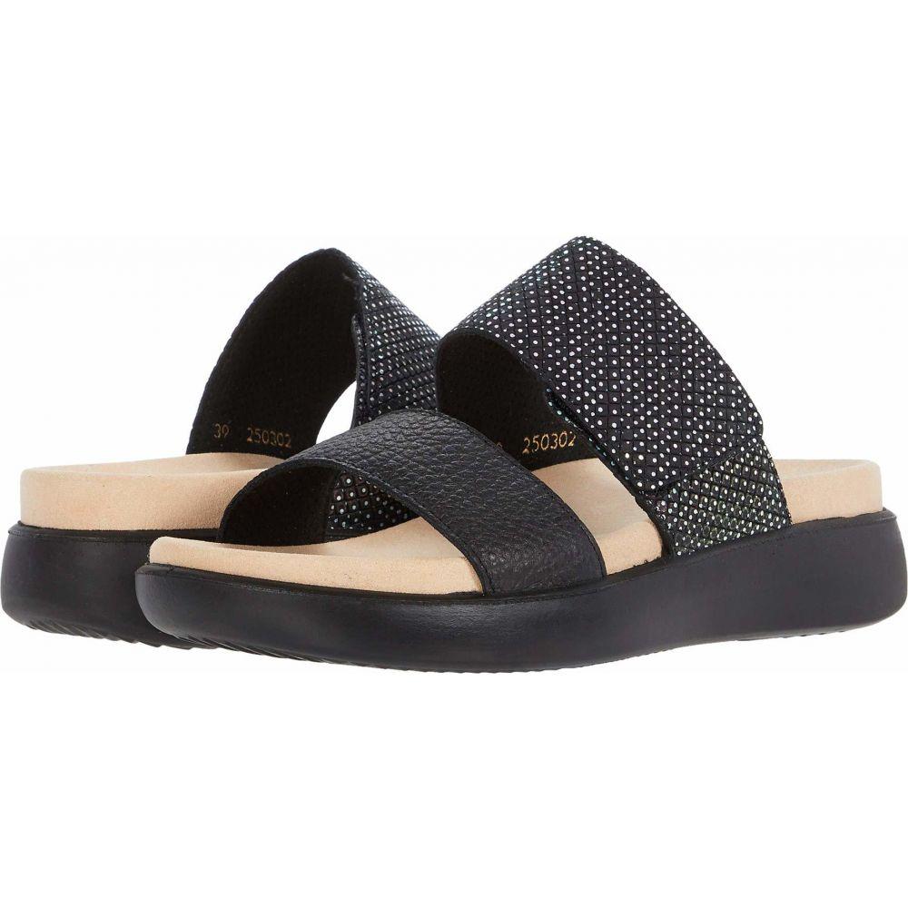 ロミカ Romika レディース サンダル・ミュール シューズ・靴【Borneo 01】Black