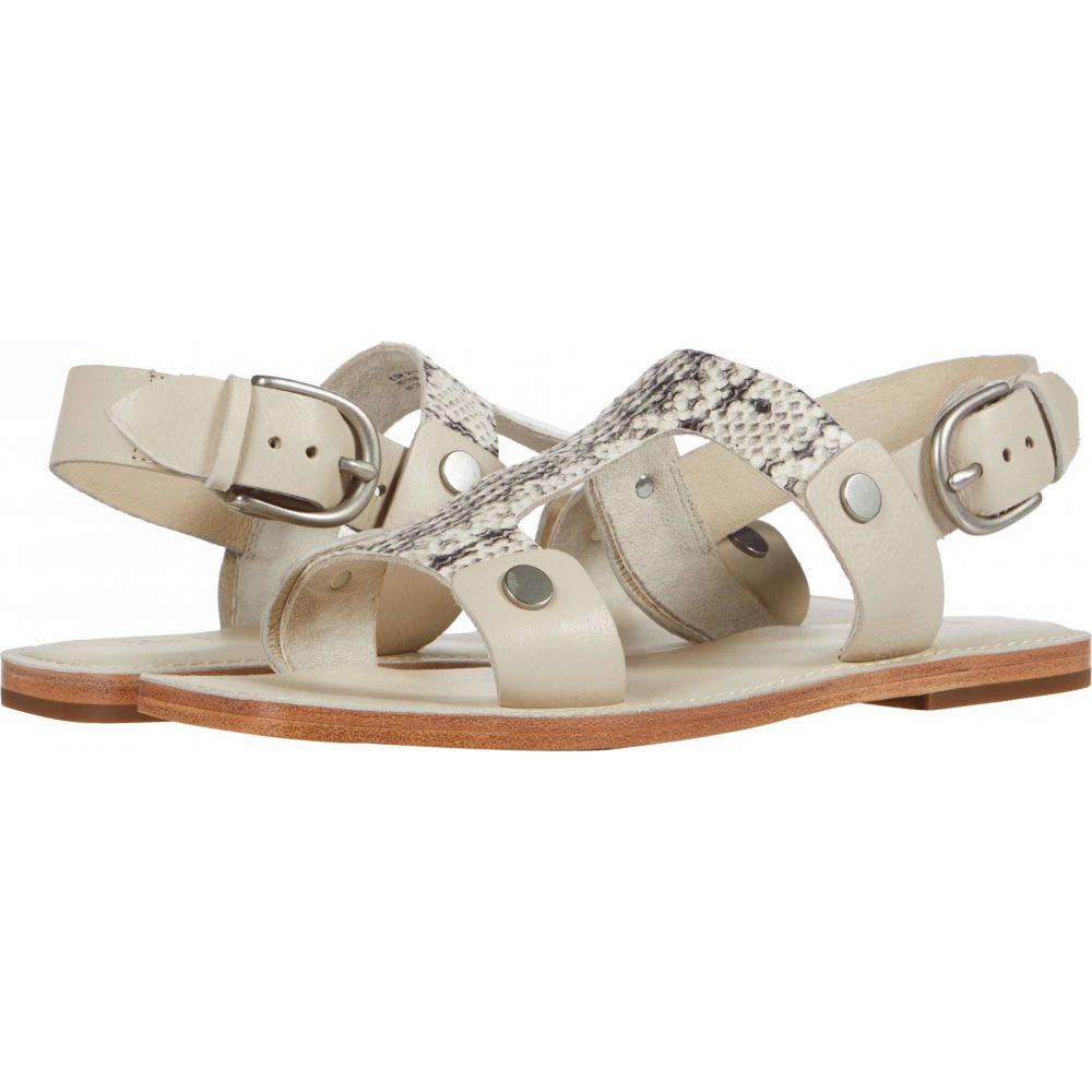 フライ Frye レディース サンダル・ミュール シューズ・靴【Felix Sling Sandal】White/Black Multi