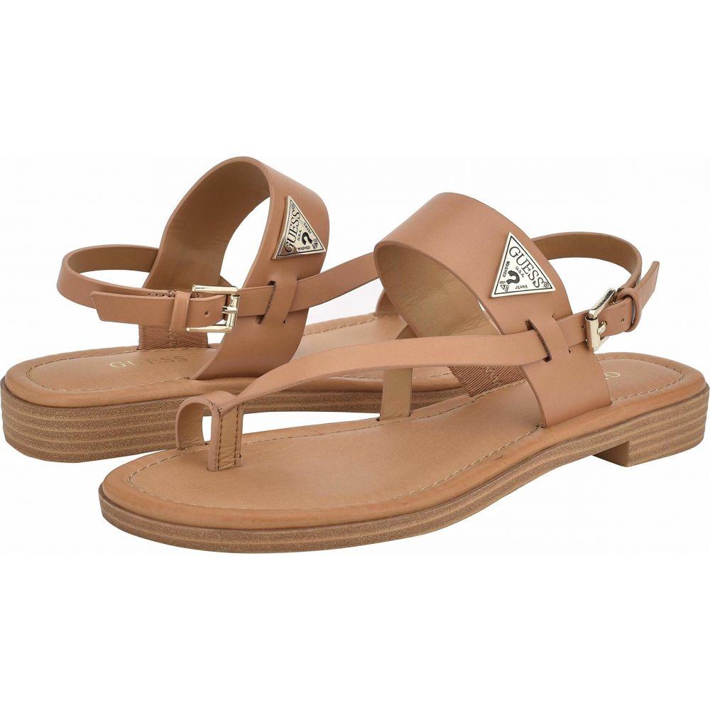 ゲス GUESS レディース サンダル・ミュール シューズ・靴【Geesa】Medium Brown