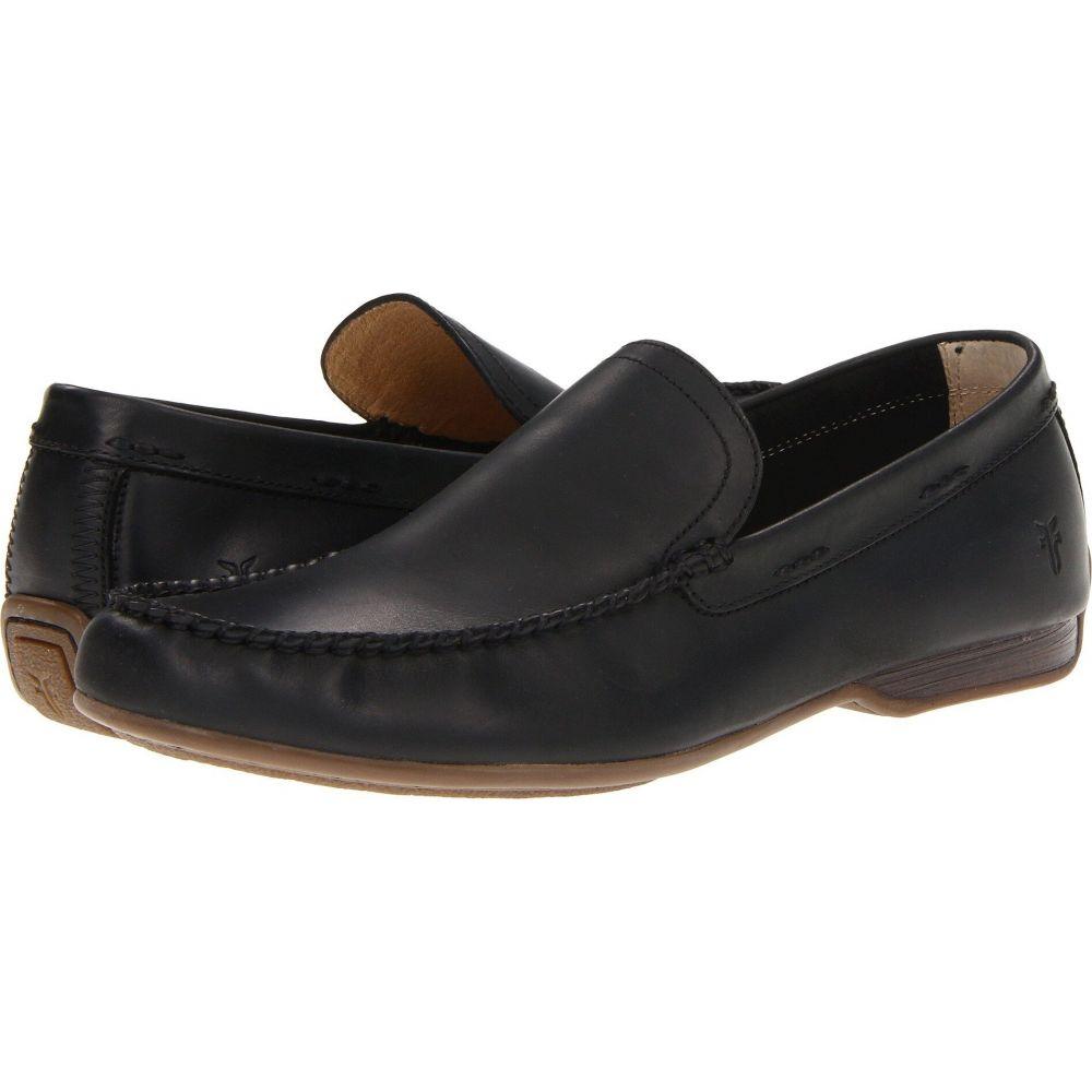 フライ Frye メンズ ローファー シューズ・靴【Lewis Venetian】Black Antique Pull Up