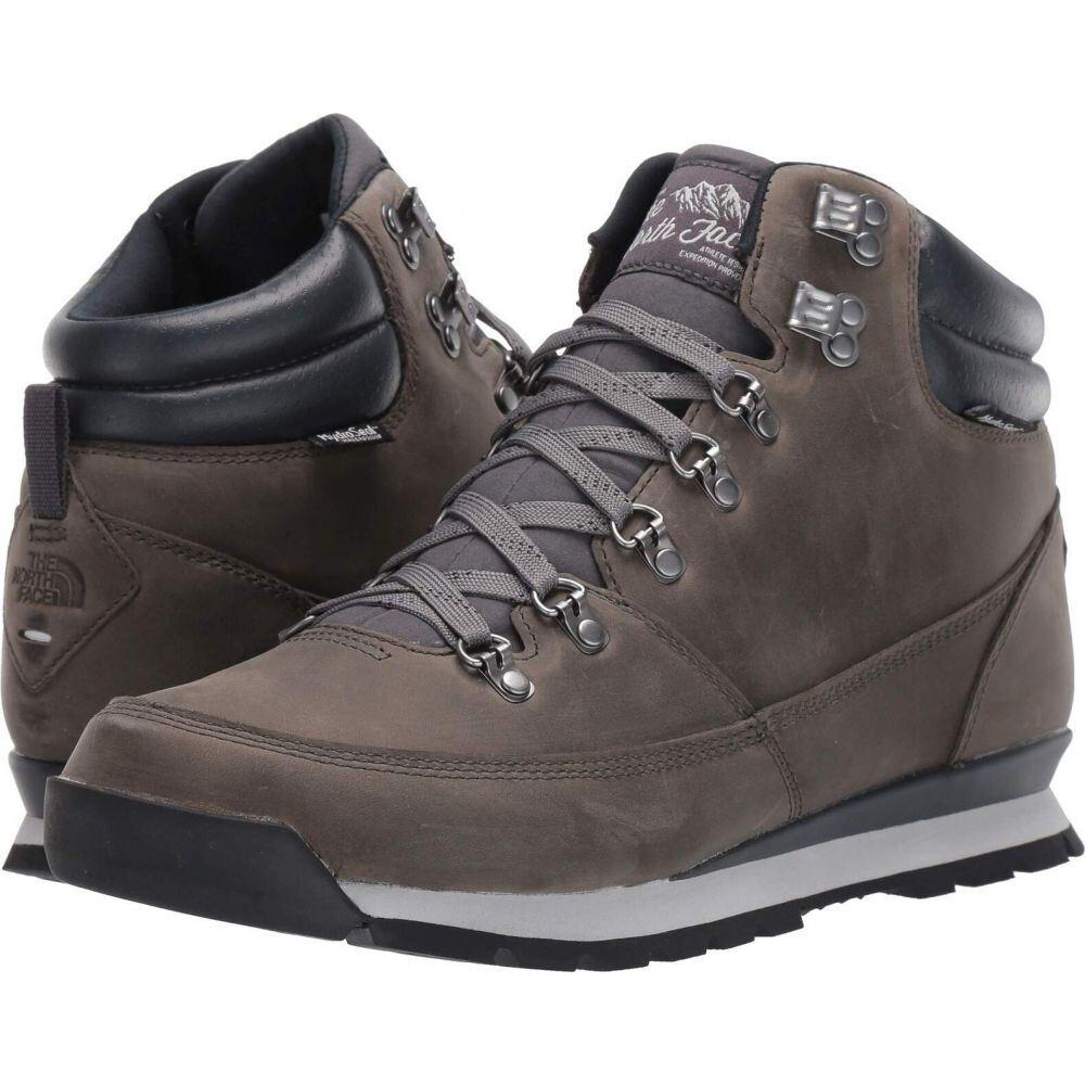 ザ ノースフェイス The North Face メンズ ハイキング・登山 シューズ・靴【Back-To-Berkeley Redux Leather】Zinc Grey/Ebony Grey