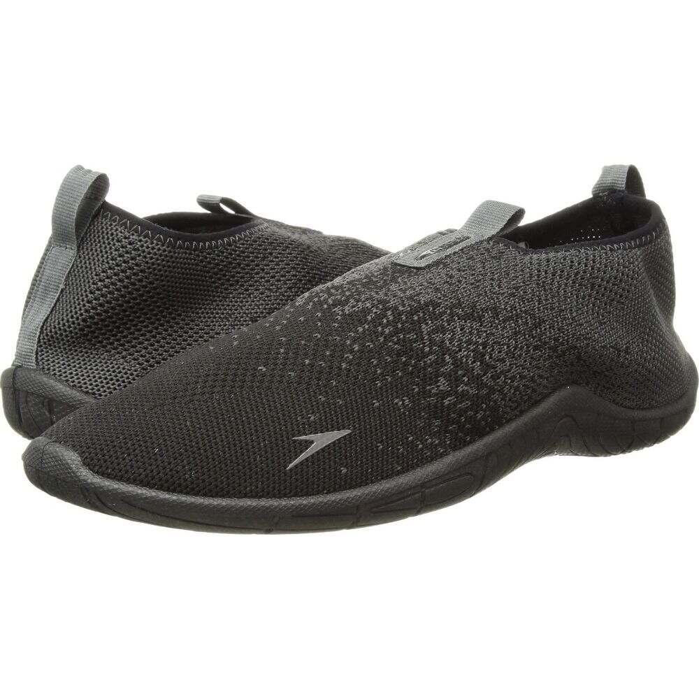 スピード Speedo メンズ スニーカー シューズ・靴【Surf Knit】Black/Grey