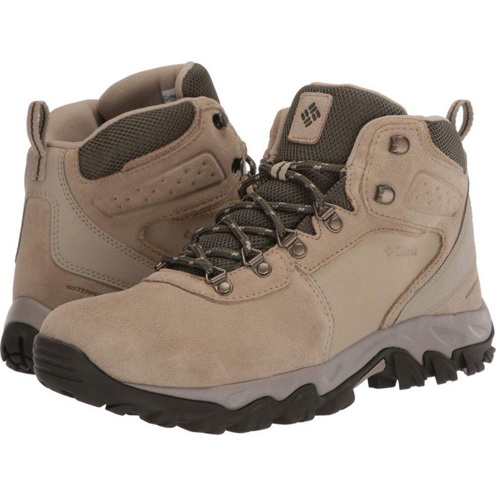 コロンビア Columbia メンズ ハイキング・登山 シューズ・靴【Newton Ridge Plus II Suede WP】Twill/Nori