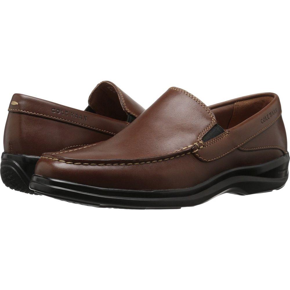 コールハーン Cole Haan メンズ ローファー シューズ・靴【Santa Barbara Twin Gore II】Harvest Brown Leather