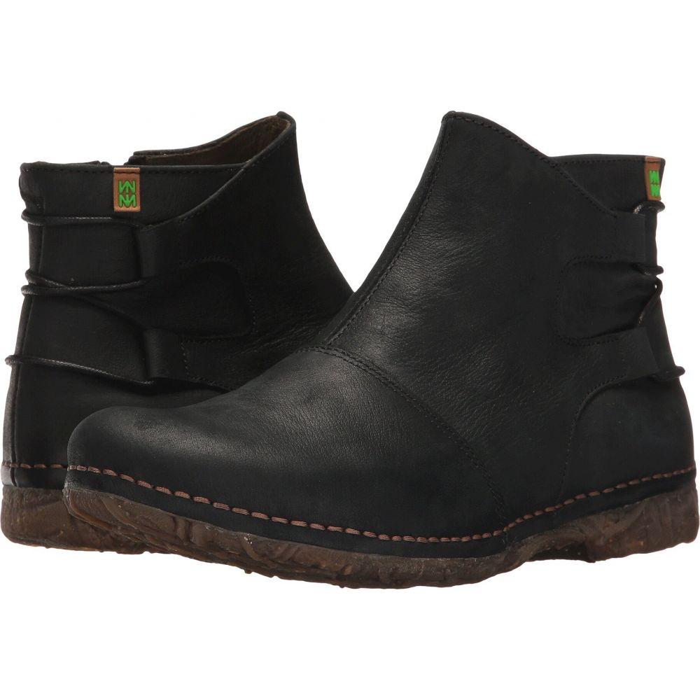 エル ナチュラリスタ El Naturalista レディース ブーツ シューズ・靴【Angkor N917】Black