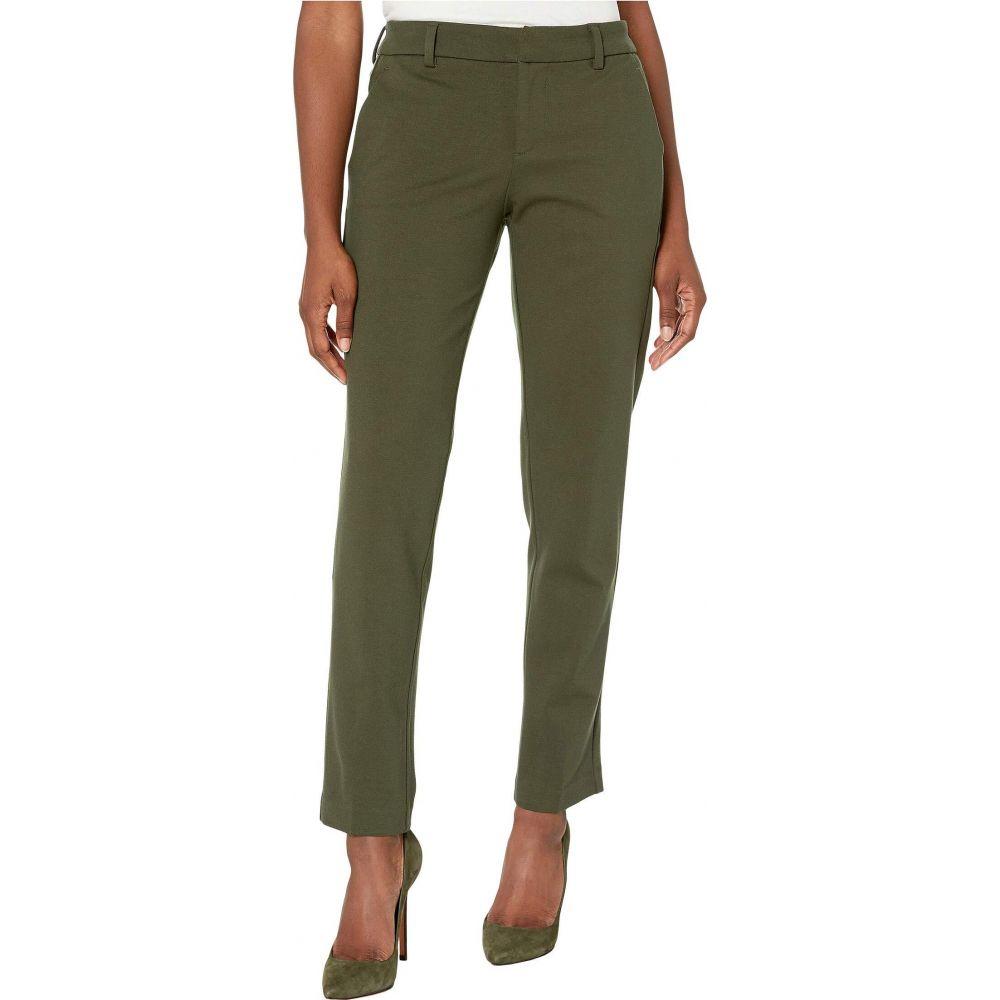 リバプール Liverpool レディース ボトムス・パンツ 【Petite Kelsey Straight Leg Trousers in Super Stretch Ponte Knit】Olive Branch