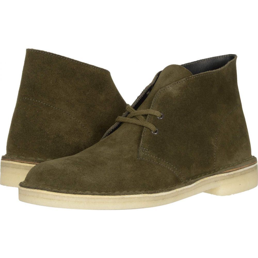 クラークス Clarks メンズ ブーツ シューズ・靴【Desert Boot】Dark Olive Suede
