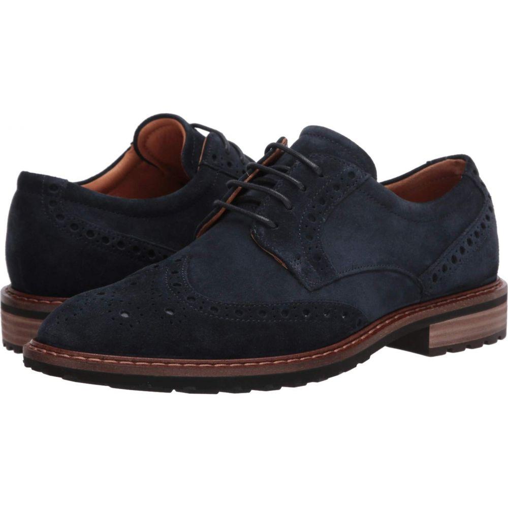 エコー ECCO メンズ 革靴・ビジネスシューズ ウイングチップ シューズ・靴【Vitrus I Wingtip Tie】Navy